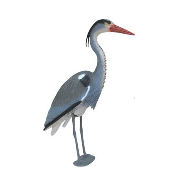 Blue Heron Decoy with detachable stand