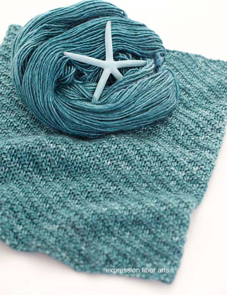 Free Swirling Sea Knitted Cowl Pattern