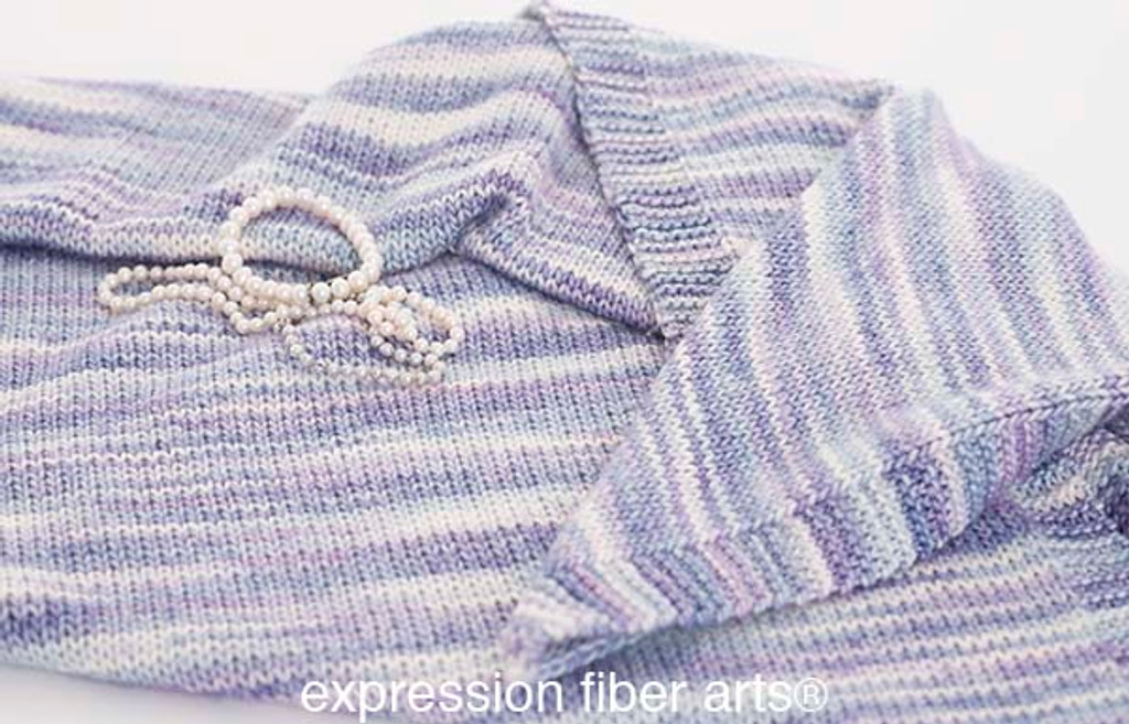 Free Mother of Pearl Knitted Shawl Pattern