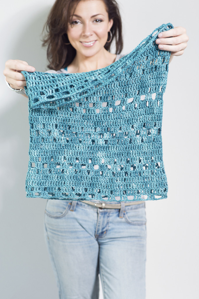 Free Harbor Cowl Crochet Pattern
