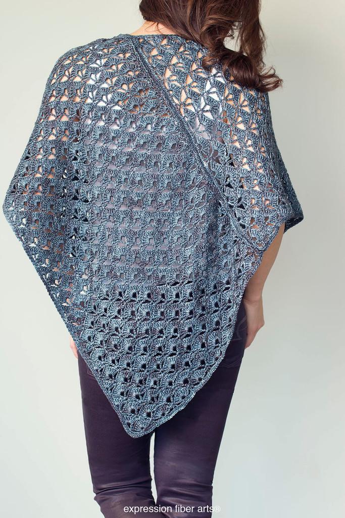 Persephone Poncho Crochet Pattern