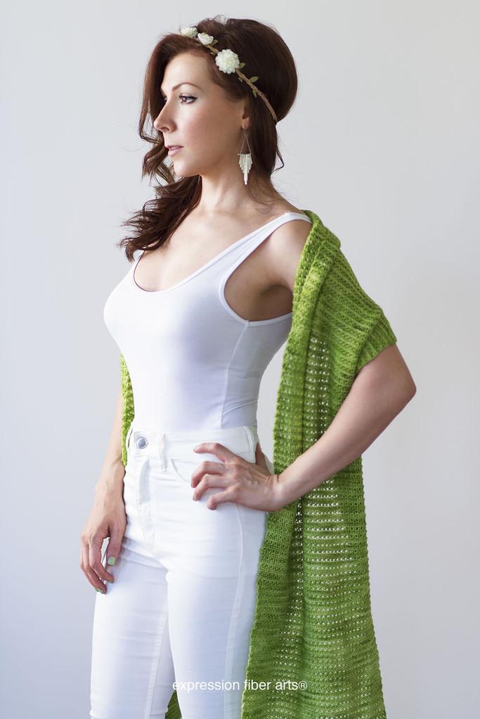 Secret Meadow Crochet Wrap Pattern