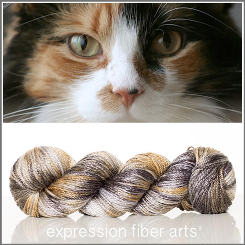 CALICO CAT 'LUSTER' WORSTED