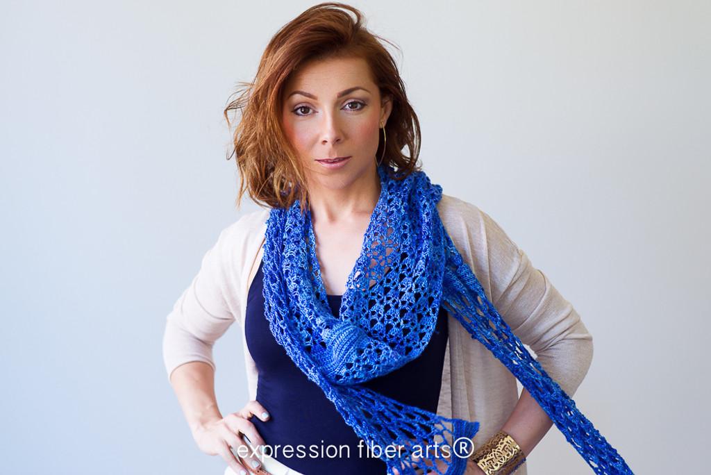 Whiffle Crochet Scarf Pattern