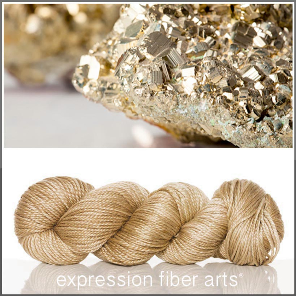 FOOL'S GOLD 'LUSTER' WORSTED