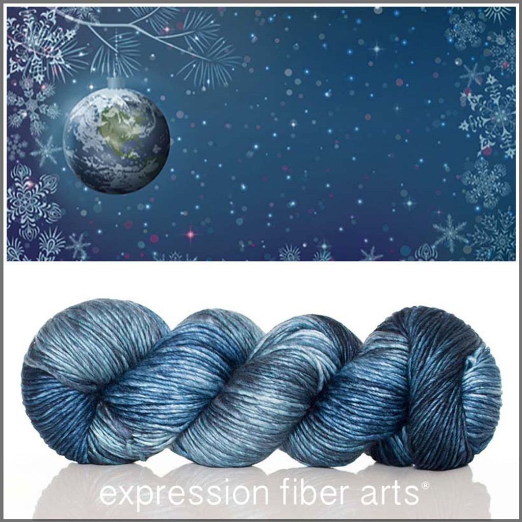 PEACE ON EARTH SUPERWASH MERINO SILK PEARLESCENT WORSTED