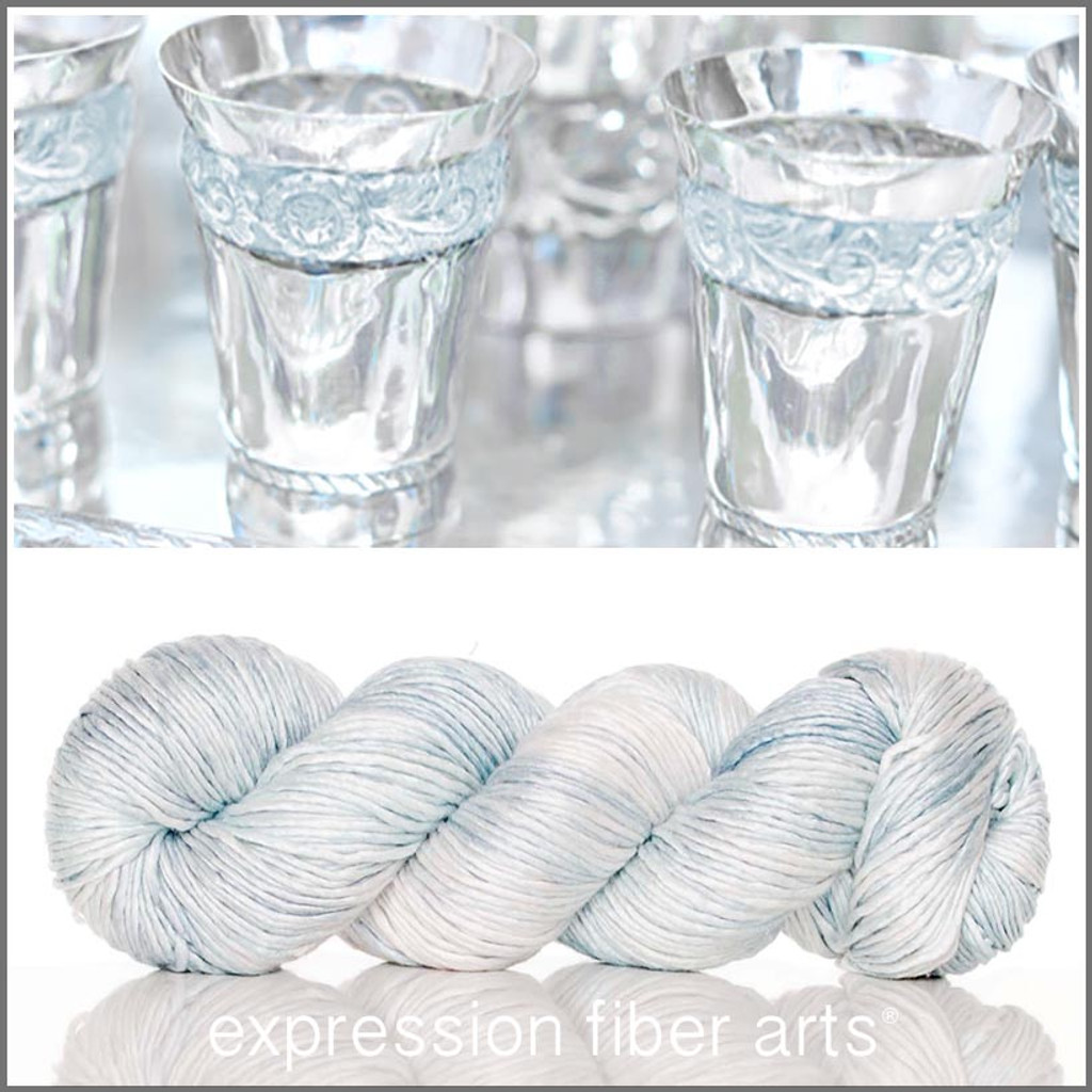 CHILLED SUPERWASH MERINO SILK PEARLESCENT WORSTED