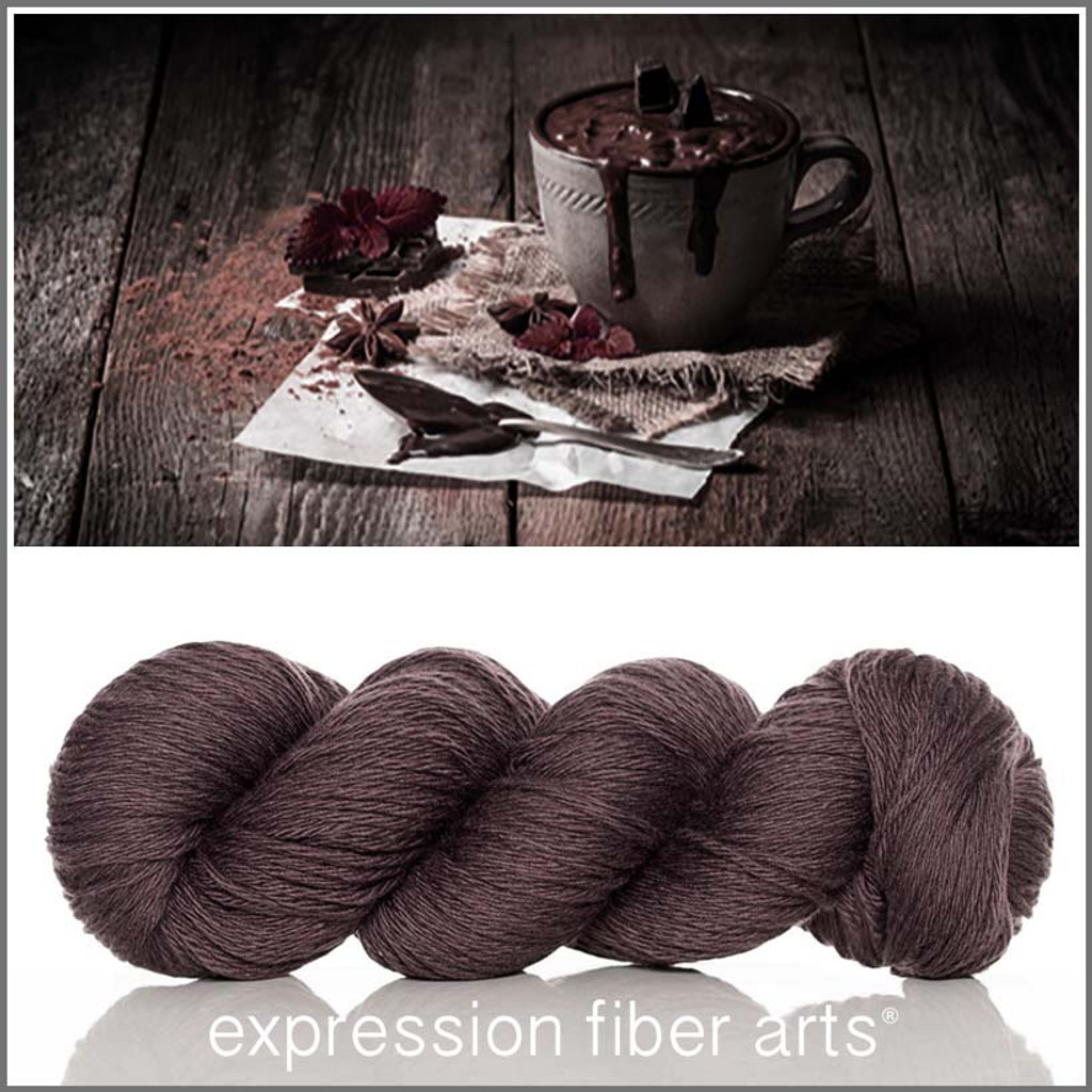 HOT CHOCOLATE - 'COZY' Limited Edition Worsted Wool Yarn