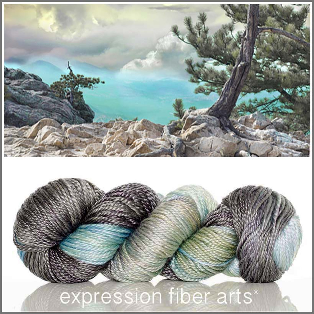MOUNTAIN AIR 'LUSTER' SUPERWASH MERINO TENCEL WORSTED