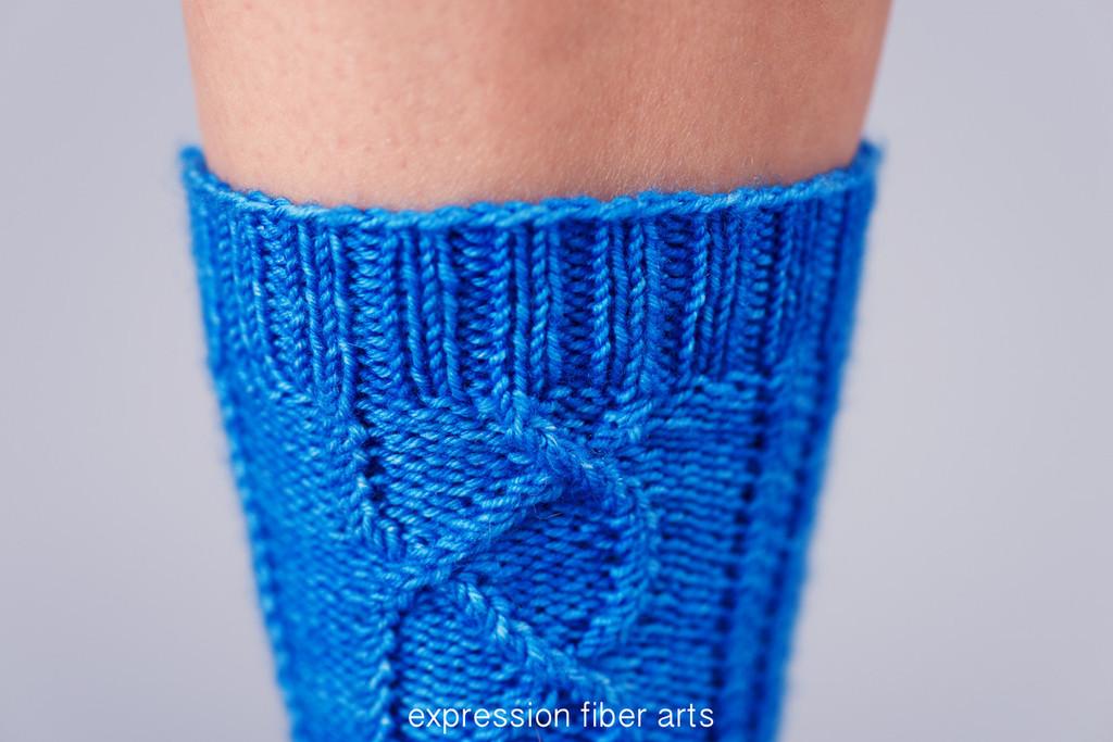 Laramie Knitted Sock Pattern