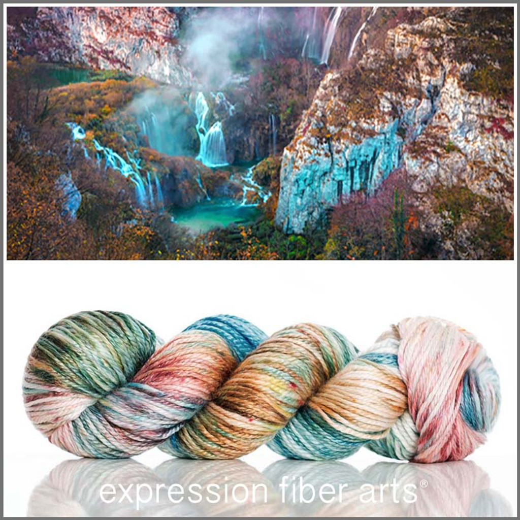 CAVERN 'LUSTER' WORSTED