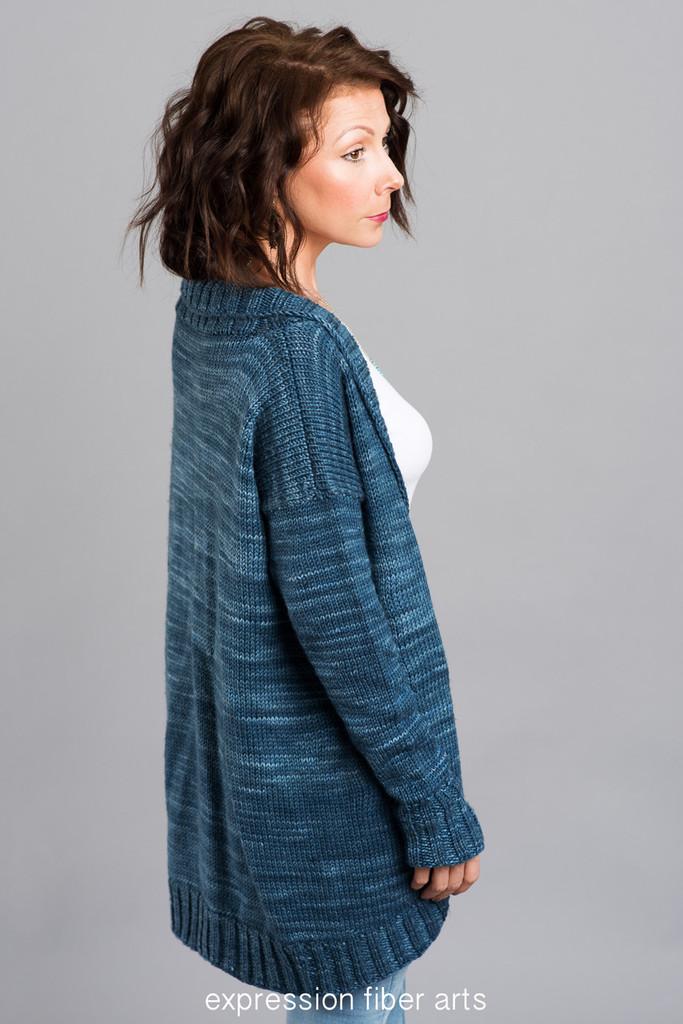 Tadaima Knitted Cardi Pattern