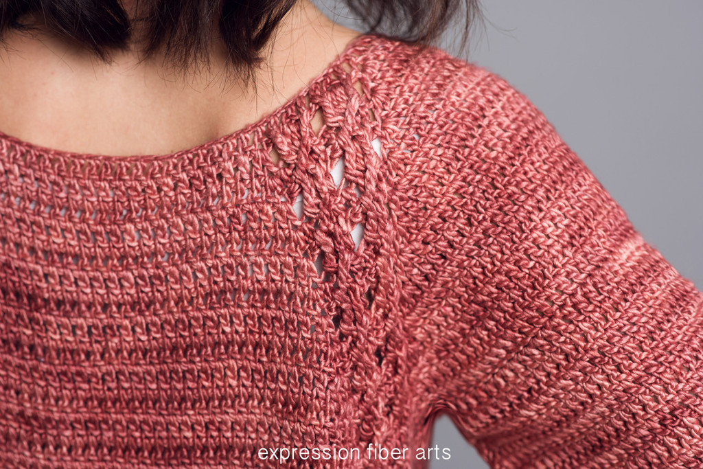 Catia Crochet Pullover Sweater Pattern