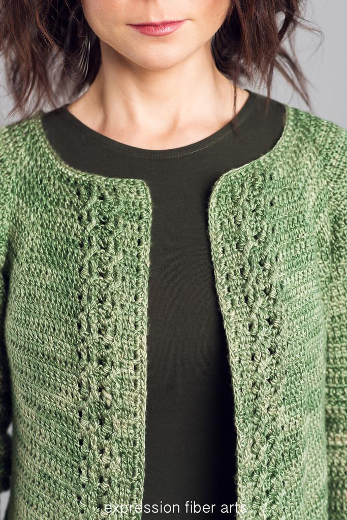 Apple Orchard Crochet Cardigan Pattern