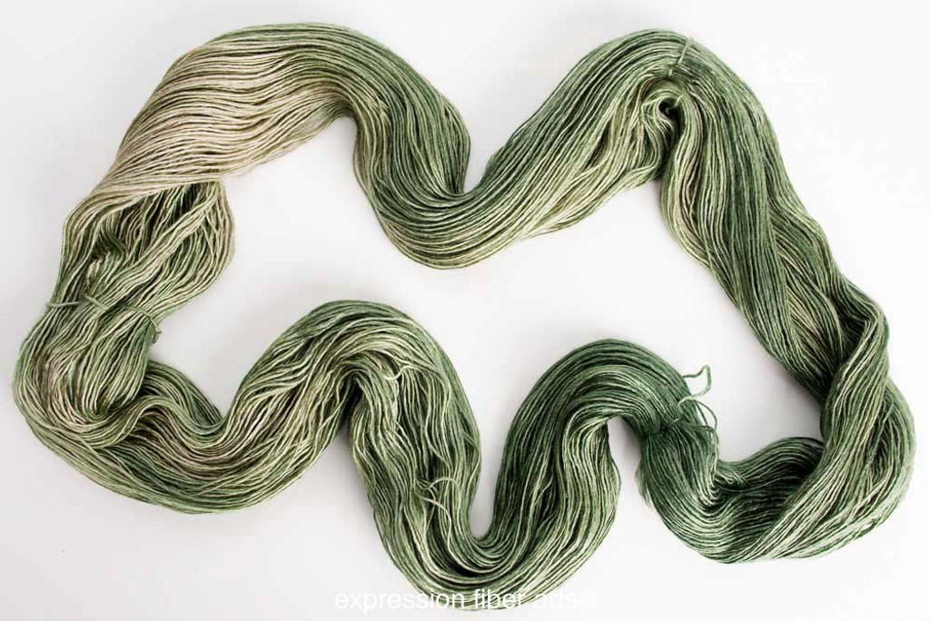 ELVEN GROVE SUPERWASH MERINO SILK PEARLESCENT FINGERING