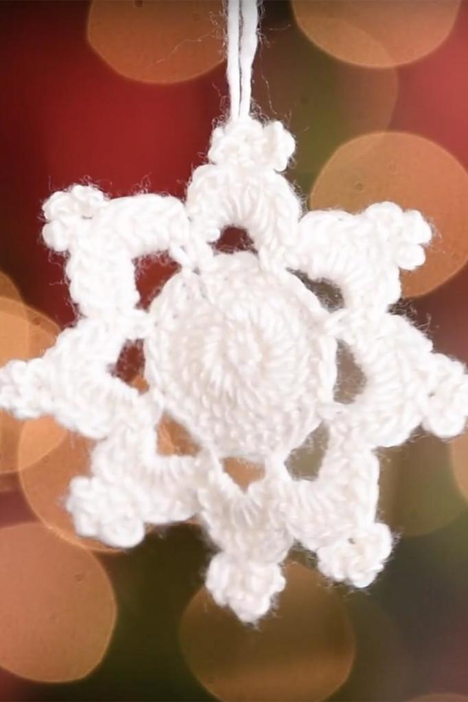 Snowflake v2 Crochet Ornament Pattern