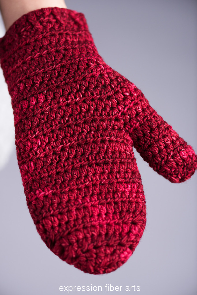 Warm and Toasty Family Set Crochet Mitten Pattern