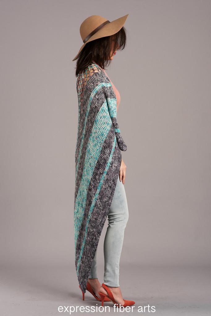 Roads Not Taken Crochet Shawl Pattern
