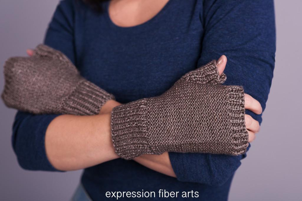 Kanbalar Knitted Mitts Pattern