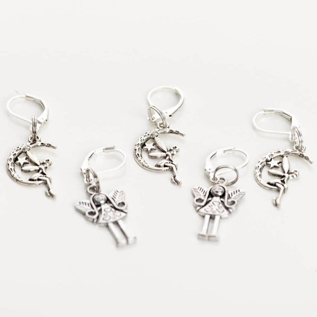 Fairies 5-Pack Opening Stitch Markers