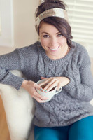 Free Crochet Latte Headband Pattern
