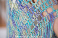 Free Crochet Boho Triangle Shawl Pattern
