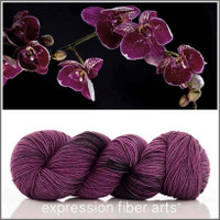 BLACK ORCHID 'RESILIENT' SUPERWASH MERINO SOCK