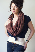Cabled Coffee Lovers Knitted Cowl Pattern