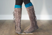 Bridgette Crochet Boot Topper Pattern