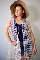 Shimmering Shells Crocheted Lace Tunic Pattern