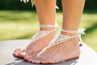 Wanderer Knitted Barefoot Sandals Pattern
