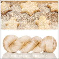 POWDERED SUGAR COOKIES 'LUSTER' SUPERWASH MERINO TENCEL SPORT