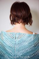 Teal Tenacity Crochet Shawl Pattern
