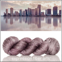 MIAMI SUPERWASH MERINO SILK PEARLESCENT WORSTED