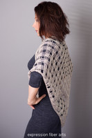 Misty Morning Triangle Crochet Shawl Pattern