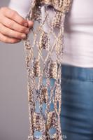 Beachcomber Infinity Crochet Scarf Pattern