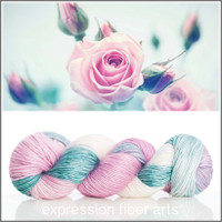 JUNE ROSE 'PEARLESCENT' WORSTED