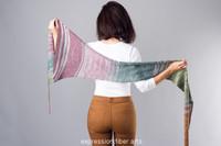 Star Train Knitted Shawl Pattern