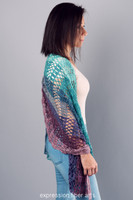 Succulent Garden Crochet Shawl Pattern
