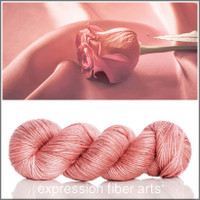 COPPER ROSE SUPERWASH MERINO SILK PEARLESCENT WORSTED