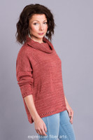 A Hint of Spice Knitted Pullover Pattern
