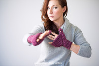 Converti-Mitts Knitted Mitten Pattern