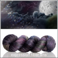 THE DARK SIDE OF THE MOON 'LUSTER' SUPERWASH MERINO TENCEL SPORT