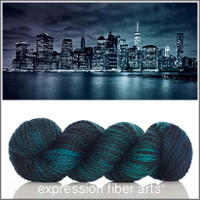 NEW YORK AT NIGHT 'BUTTERY' WOOL BULKY