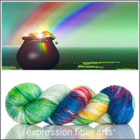 END OF THE RAINBOW 'PEARLESCENT' FINGERING