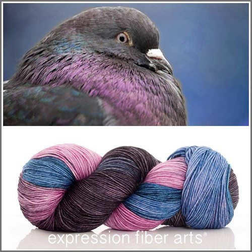 PIGEON 'RESILIENT' SUPERWASH MERINO SOCK