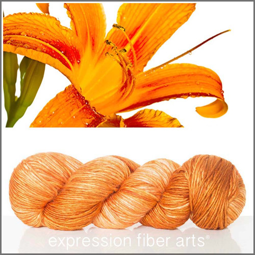 TIGER LILY 'PEARLESCENT' WORSTED