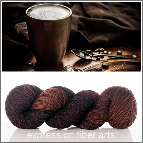 ESPRESSO 'RESILIENT' SUPERWASH MERINO SOCK