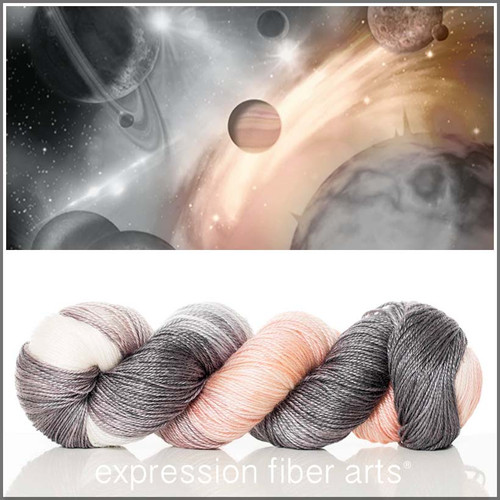 INTERSTELLAR 'LUSTER' SUPERWASH MERINO TENCEL SPORT