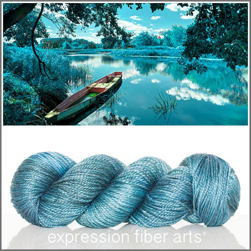 THE LADY OF SHALOTT 'LUSTER' WORSTED